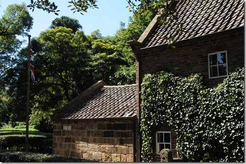 Captain Cook's Cottage in the Fitzroy Gardens in Melbourne, Victoria, Australia