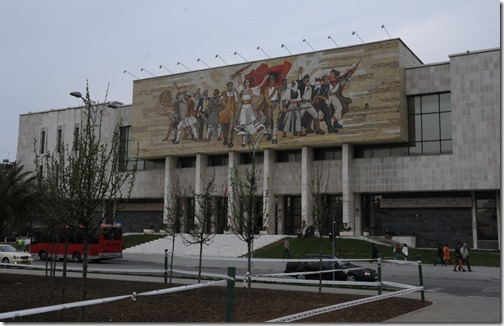 National History Museum in Tirana, Albania