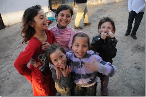 Romani (Gypsy, Roma) Children in Šuto Orizari (Шуто Оризари,) FYRO Macedonia