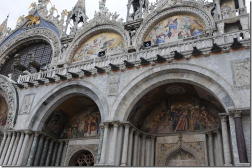 St. Mark's Basilica in the Piazza San Marco of Venice, Italy