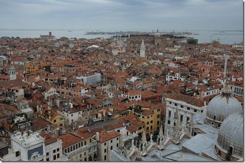 View of Venice from the Campanile di San Marco