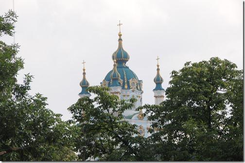 St. Andrew's Cathedral, Kiev, Ukraine