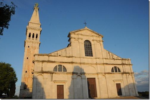 St. Euphemia's Basilica in Rovinj, Istria, Croatia