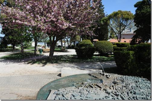 Bronze 3D city map of Pula, Istria, Croatia