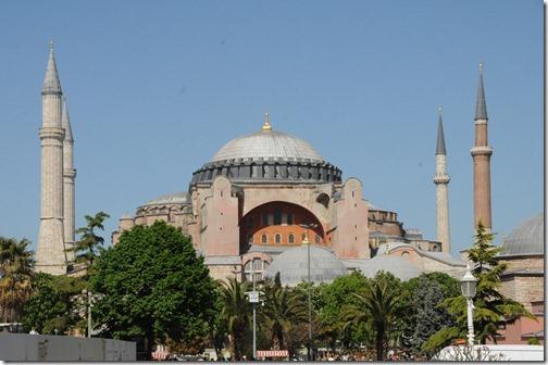 Hagia Sophia (Ayasofya Mosque) in Istanbul, Turkey