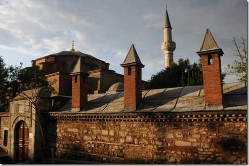 Little Hagia Sophia (Küçuk Ayasofya Camii,) formerly the Church of the Saints Sergius and Bacchus, in Istanbul, Turkey