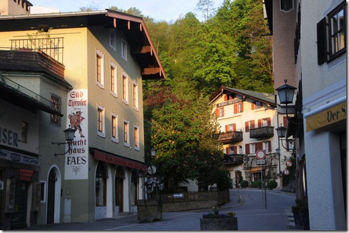 Bavarian buildings in Berchtesgaden, Germany