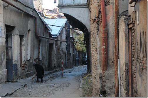 Walking through the streets of Old Tbilisi (ძველი თბილისი,) Georgia