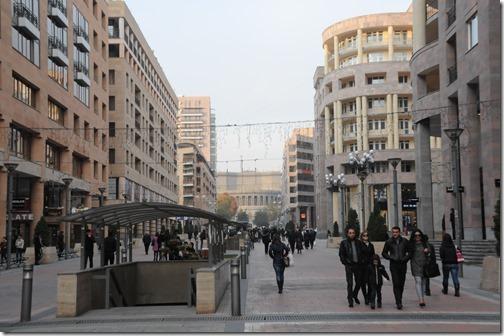 Street life in Yerevan (Երեւան,) Armenia