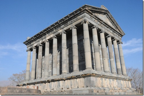 Garni Temple (Գառնի) in Armenia, rare example of an intact and unmodified pagan temple in the region