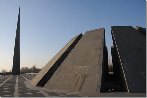 Tsitsernakaberd (Ծիծեռնակաբերդ) Monument in Yerevan, Armenia