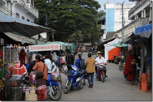 Fake goods market in Tachileik, Burma (Myanmar)