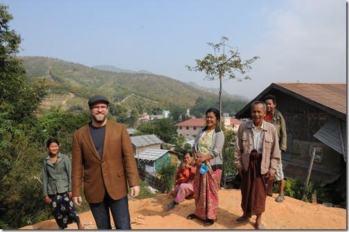 Self shot with the Ahka (Hill Tribe) village near Tachileik, Burma (Myanmar)