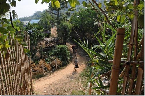 Ahka (Hill Tribe) village near Tachileik, Burma (Myanmar)