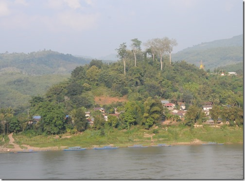 Mekong River on the border between Northern Thailand and Laos
