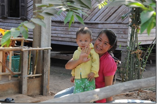 Friendly citizens of Ban Houayxay (Huay Xai), Laos