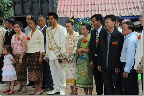 Laotian Wedding in Ban Houayxay (Huay Xai), Laos