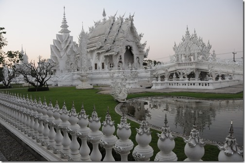Wat Rong Khun (วัดร่องขุ่น / White Temple) near Chiang Rai, Thailand
