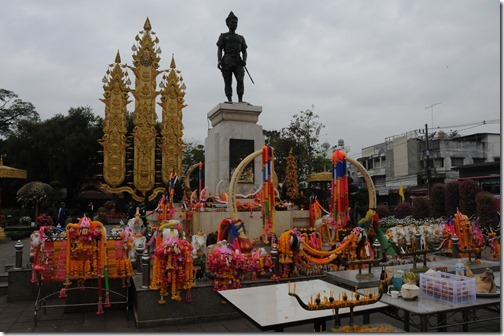 King Mangrai Monument in Chiang Rai, Thailand
