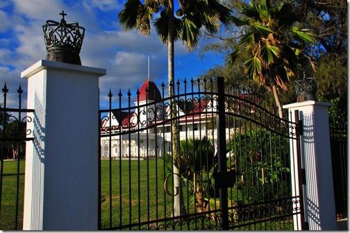 The Royal Palace in Nuku'alofa, Tonga
