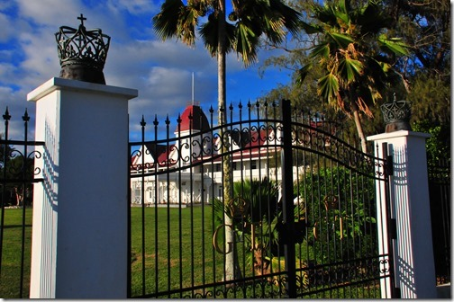 The Royal Palace in Nuku'alofa, Tonga