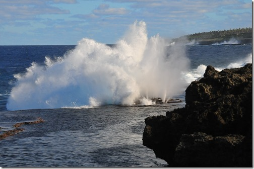 The blowholes of Tonga
