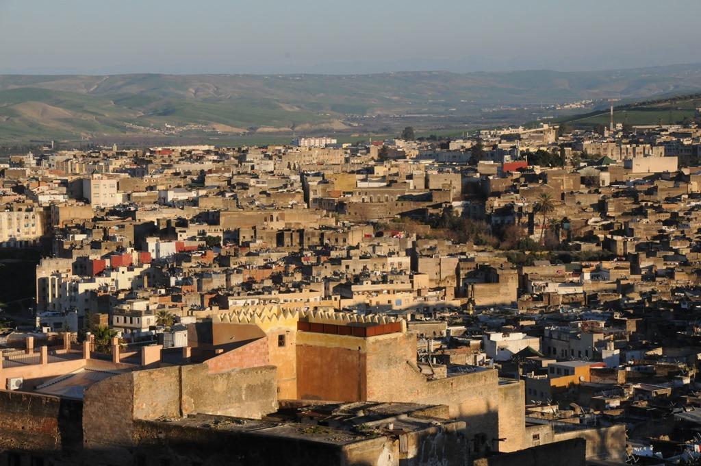 Ancient medina city map