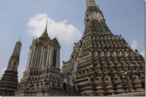 Wat Arun (Temple of Dawn,) Bangkok, Thailand