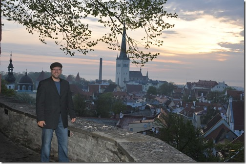 Dawn in Tallinn, Estonia