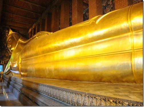 The Reclining Buddha at Wat Pho, Bangkok, Thailand