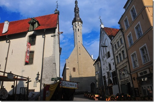 Town Hall in Tallinn, Estonia