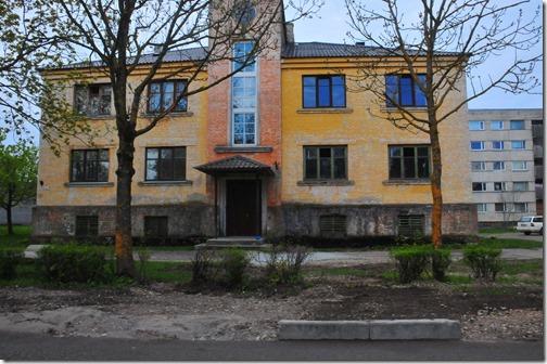 Buildings in Paldiski, Estonia