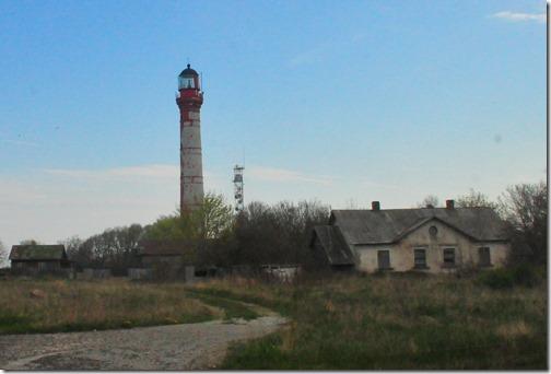 Abandoned Soviet-era Lighthouse near Paldiski, Estonia