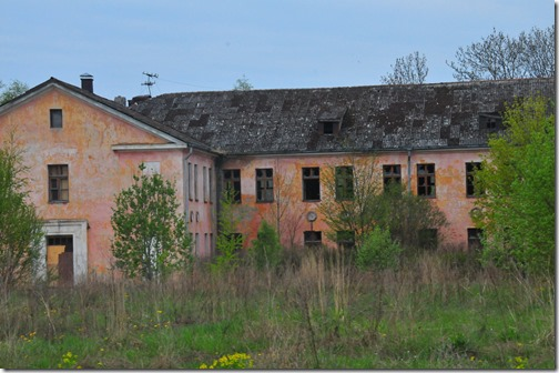 Abandoned Soviet Building in Paldiski, Estonia