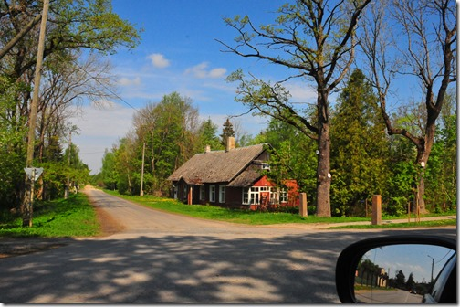 Driving through the Estonian Countryside